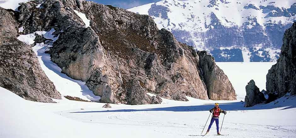 Abruzzen Italië wintersport