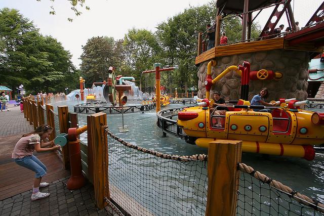 Een dagje pretpark in de zomer: altijd een succes voor de kinderen