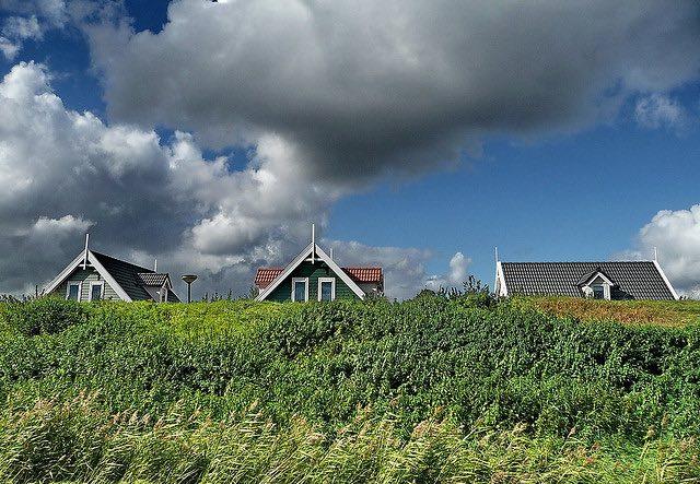 bungalowpark in Nederland
