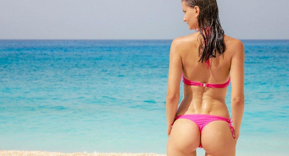 Nederlandse vrouw scoort een 8 in badkleding