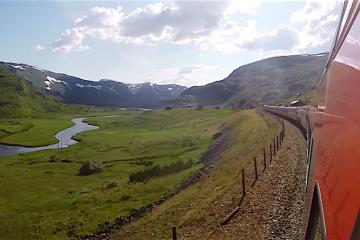 Treinreis Bergen Noorwegen